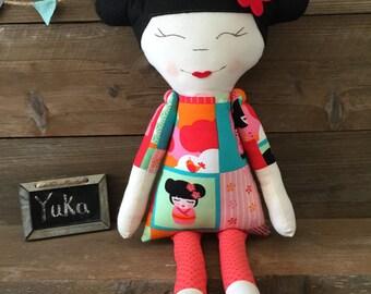 Modern Cloth Doll - Yuka