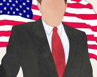 The West Wing TWWPresident Josiah Jed Bartlet