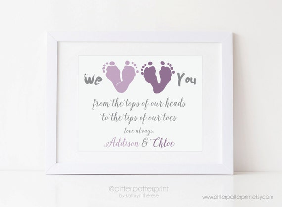 First Mother 39 S Day Gift From Twins New Mom Personalized