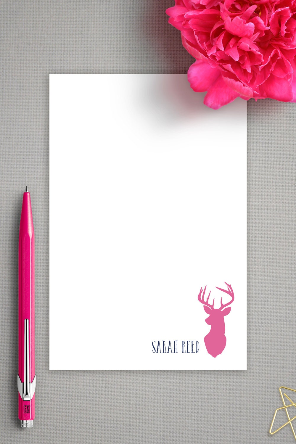 personalized notepad girlfriend gift graduation gift oh