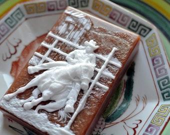 Pole Bending Soap / Rider Soap / Horse Soap / Rodeo Soap