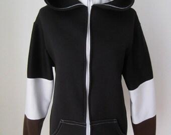 The Legend of Zelda Dark Shadow Link Cosplay Costume Tunic Hoodie Jacket