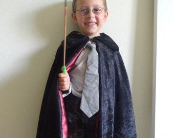 Kids Wizard Cloak