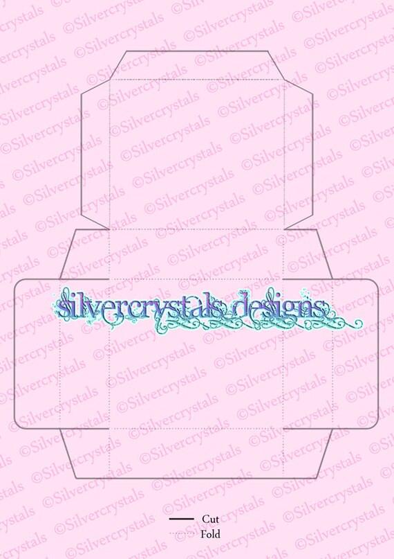 Custom Size Soap Box Diy Flat Printable Self Assembly Make