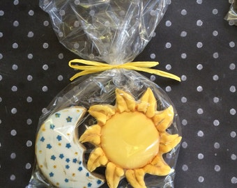 SUN and MOON Sugar Cookies