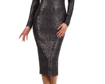 Bodycon Midi Dress, Black Midi Dress, Black Cocktail Dress,Black Bodycon Dress,Black Bodycon Midi,Anniversary Midi Dress,Cocktail Midi Dress