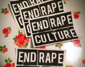End Rape Culture Patch