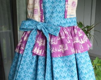 Little girls 3-tiered dress