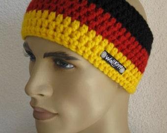 Headband Germany Fan