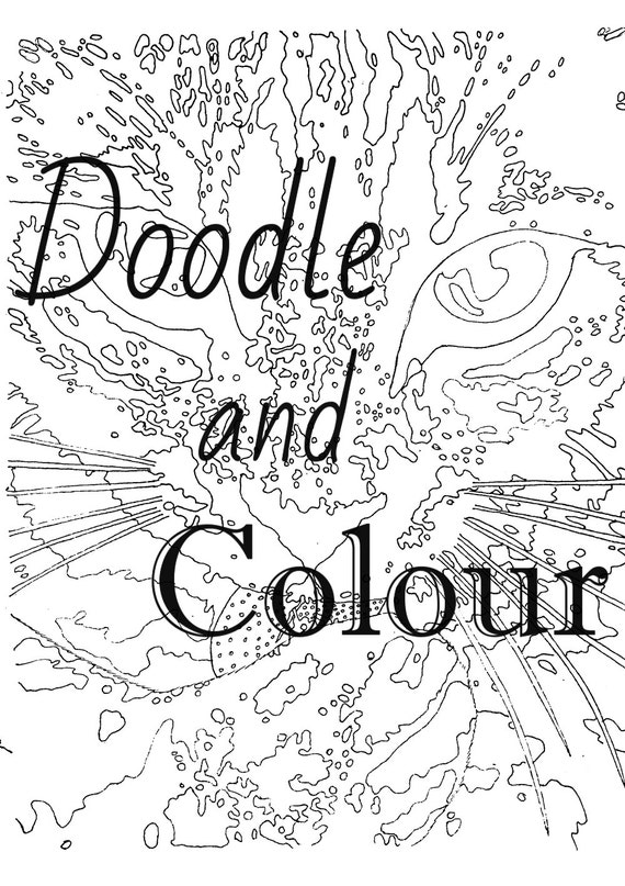 grown up coloring pages cats - photo#14