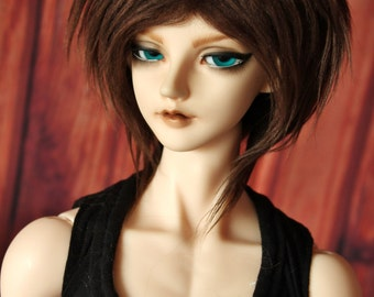 BJD Fue wig brown (choose your size)