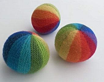 Knitting Patterns For Toy Balls : KNITTING PATTERN Doll Toy Pocket Doll PDF Amigurumi
