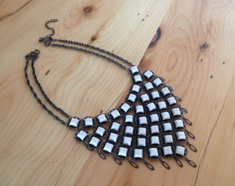 Bib Necklace in a Victorian Style