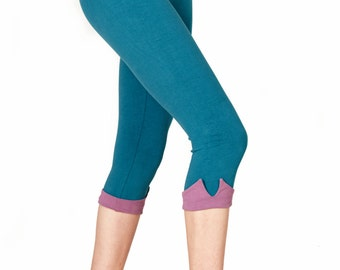 Cropped yoga pants | Etsy