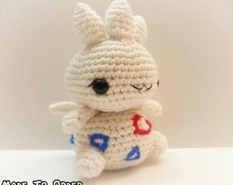 Crochet Togetic Inspired Chibi Pokemon