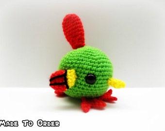 Crochet Natu Inspired Chibi Pokemon