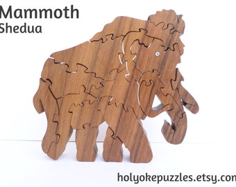 Mammoth Jigsaw Puzzle in Shedua