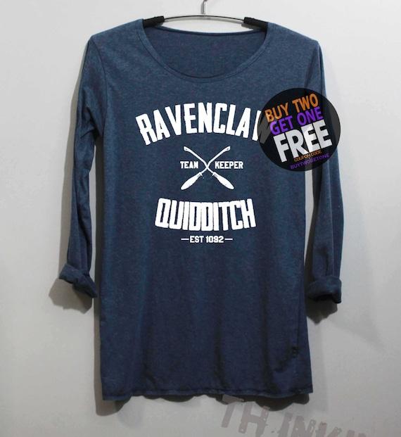 Ravenclaw Quidditch Shirt Long Sleeve TShirt T by ...