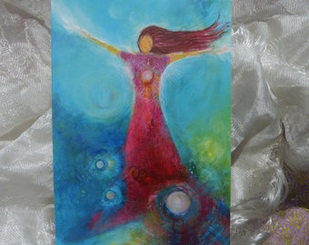 """Angel Postcard """"Unconditioned Love"""""""