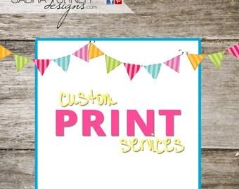 Custom Print Order of Mason Jar Thank You Cards for Tiffani Wells