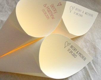 Personalised confetti cones (x10)