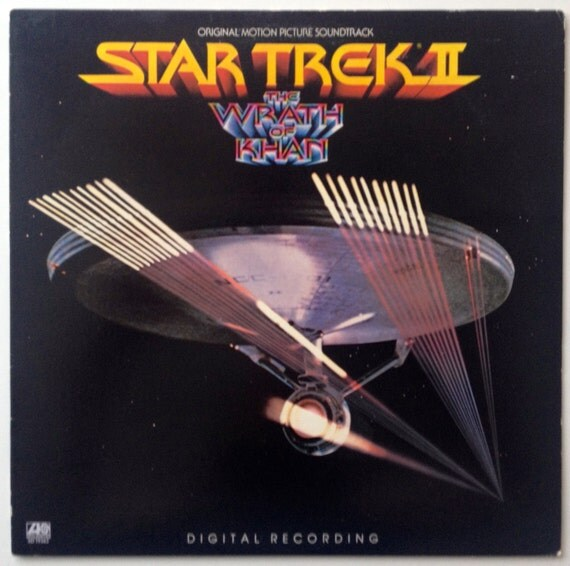 Star Trek Ii The Wrath Of Khan Lp Vinyl Record Album
