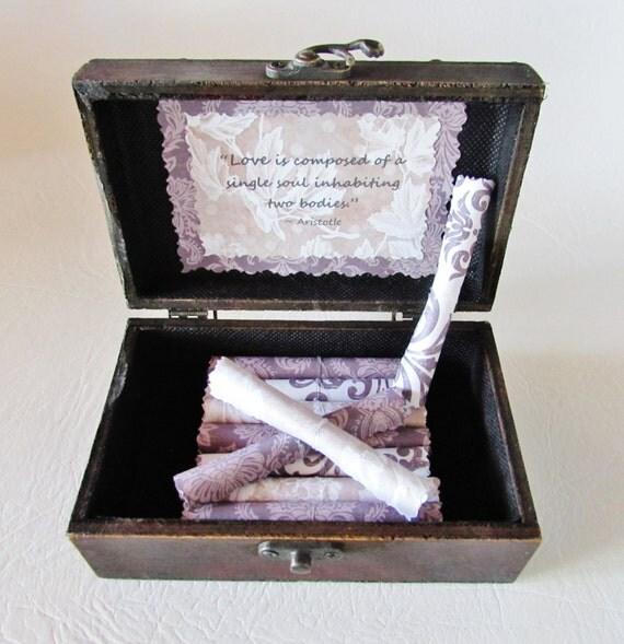 Anniversary Gift 5th Anniversary Gift Wood Anniversary Valentines Gift Love Scroll Box Love Quotes Husband Anniversary Wife Anniversary