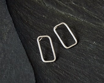 square wire earrings