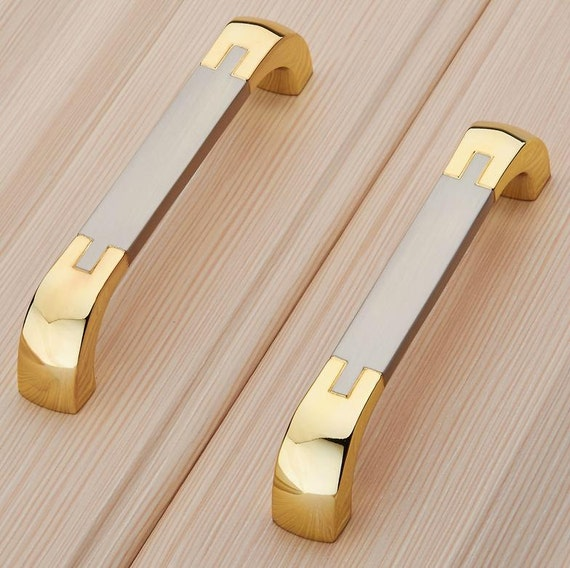 2.5u0027u0027 3.75u0027u0027 5u0027u0027 Dresser Pulls Drawer Knobs Pulls Handles Gold Silver Chrome  Kitchen Cabinet Handle Pull Knob Furniture Hardware 64 96 128mm From LBFEEL  On ...