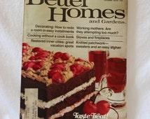 BETTER HOMES and Garden MAGAZINE, Vintage October 1978 magazine, home decorating magazine, vintage paper ephemera, vintage lifestyle