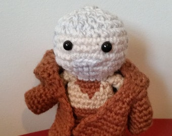 Crochet Obi Wan Kenobi Amigurumi