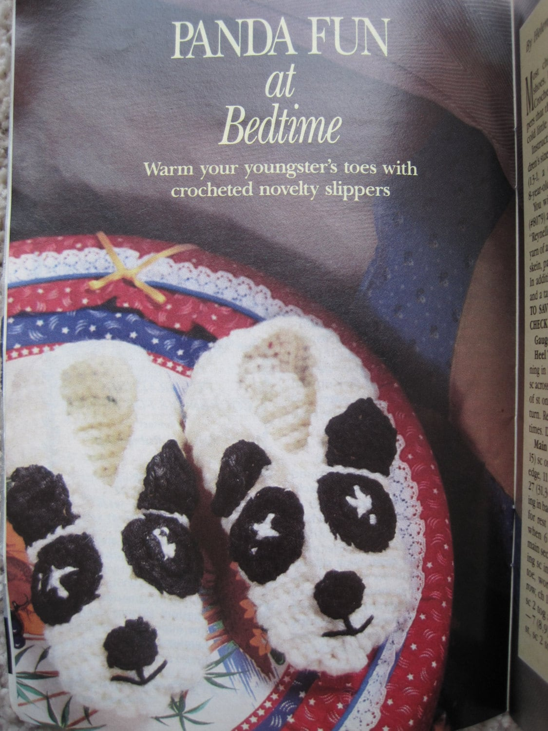 Knit and crochet pattern book the workbasket august 1990 sold by kendallscrochet bankloansurffo Choice Image