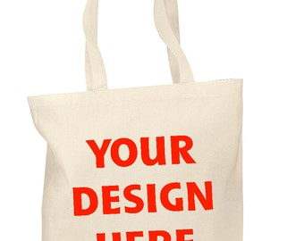 Personalized Cotton Tote Bags Custom Party Favors Bags - Any occasion