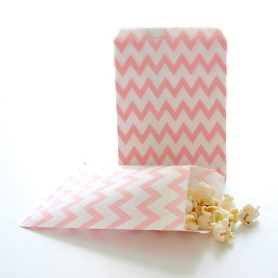 favor bags baby shower goodie bag small treat bags pink paper bags
