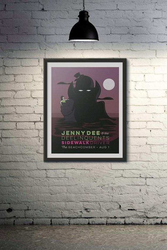 Jenny Dee & The Deelinquents/Sidewalk Driver @ The Beachcomber, Wellfleet, MA