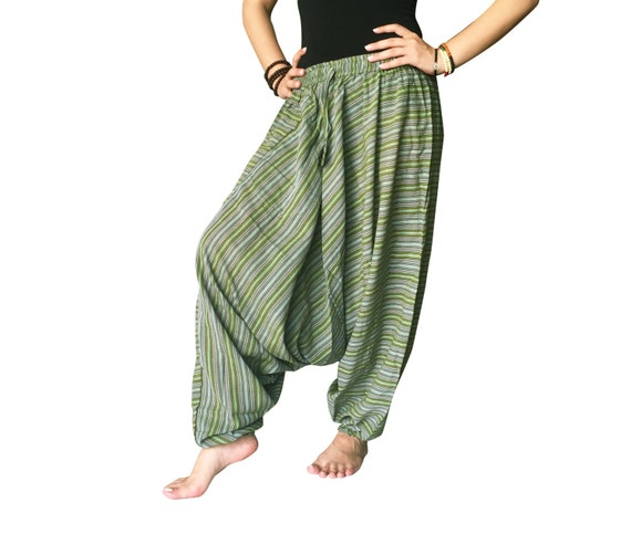 Boho Harem Pants. Our collection of hand stitched bohemian harem pants come in seven unique designs and over 50 beautiful prints. These hippie pants are a .