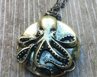 Octopus Sea Locket