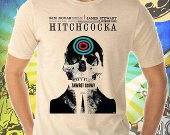 Vertigo Movie Poster on Men's Tee Shirt
