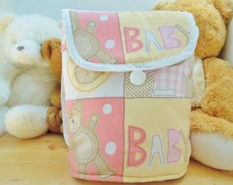 Diapers bag,diapers baby girl bag,diaper bag,pink baby bag,diapers backpack,diapers baby bag,quilted bag,carriage bag,teddy bear bag
