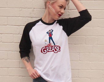 Vintage Style Grease Jersey/t-Shirt