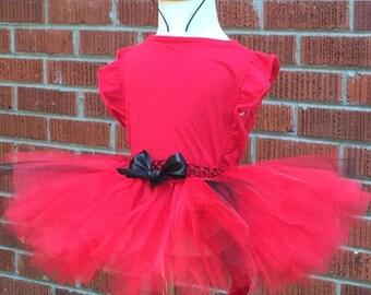 Devil Costume - Tutu, Tail,& Headband - Girls Devil Costume - Devil Halloween Costume - Devil Tutu - GirlsTutu Costume