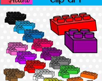 Building Blocks Clip Art