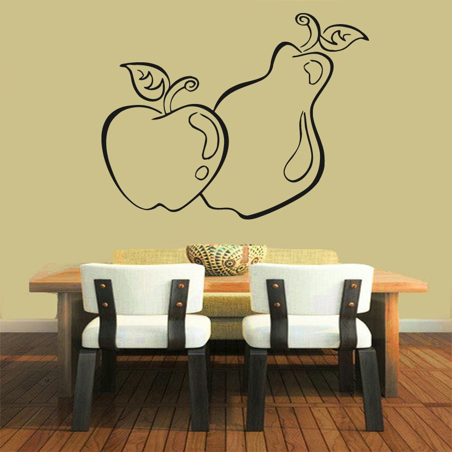 Beautiful Ideas Of Apple Wall Decor for Kitchen - Best Home Plans ...