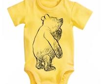 Classic Winnie The Pooh Baby Bodysuit