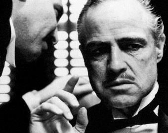 The Godfather Poster, Don Vito Corleone, Gangster, Italian Mafia