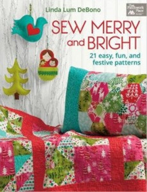 Quilting Book Sew Merry and Bright Book Christmas Craft : quilting books australia - Adamdwight.com