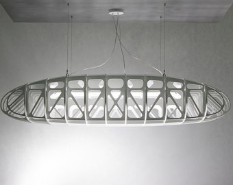 IN THE AIR 180cm – a large modern ceiling light lamp