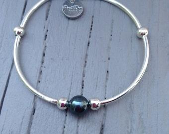 Tahitian Swarovski Crystal Pearl Bracelet
