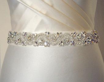 All around wedding dress belt, bridal belt, wedding dress belt, wedding dress embellishments, all around, beaded belt, all around beaded