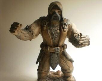 Tremor Clay Sculpture - Mortal Kombat